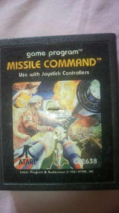 Cartucho de <strong>atari</strong> Juego Missile Command