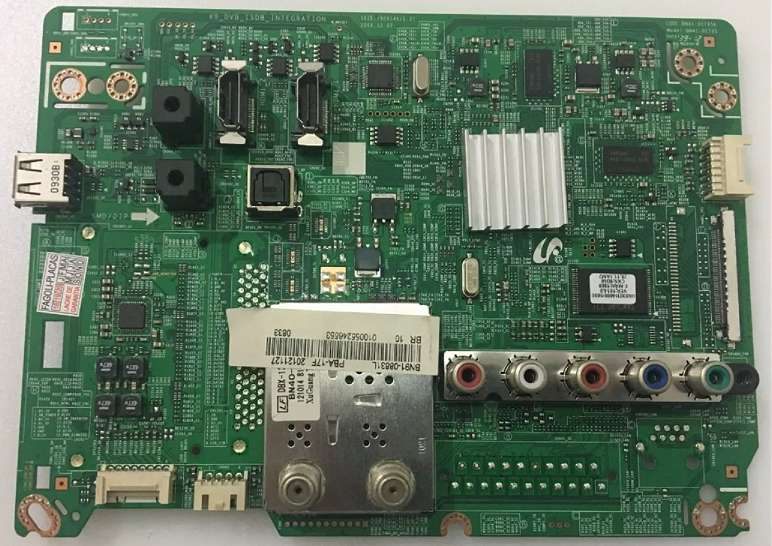 Reparacion placa main SAMSUNG UNXXF5500 UNXXEH5000