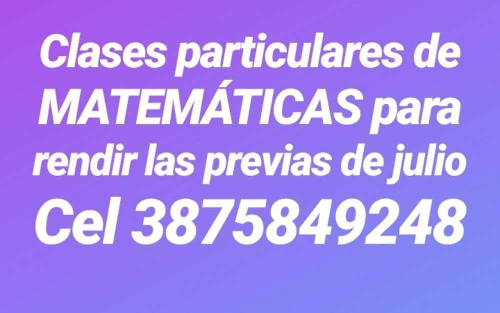 Clases Matemáticas