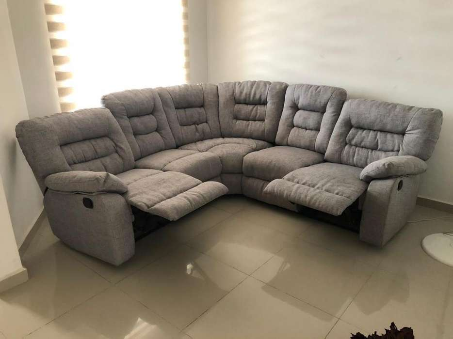 Vendo Sofa en L Reclinable