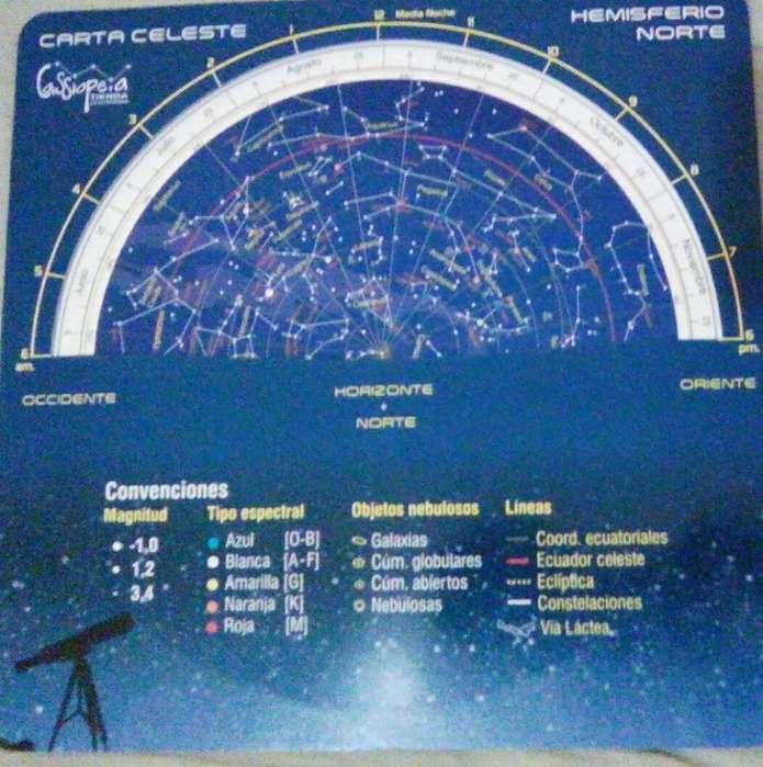 carta celeste astronomia