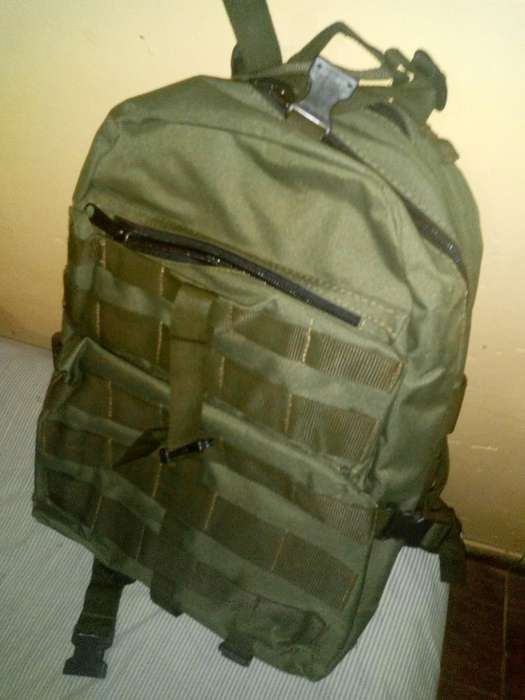Ultima Mochila Militar!!