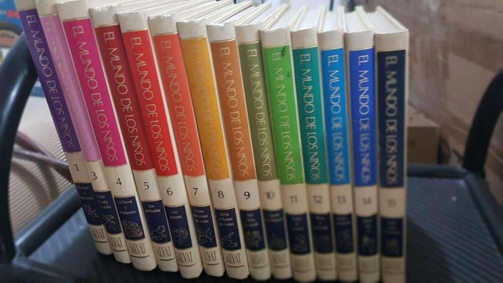 Enciclopedia El mundo de los niños mas Planeta mas Libros de Cuentos