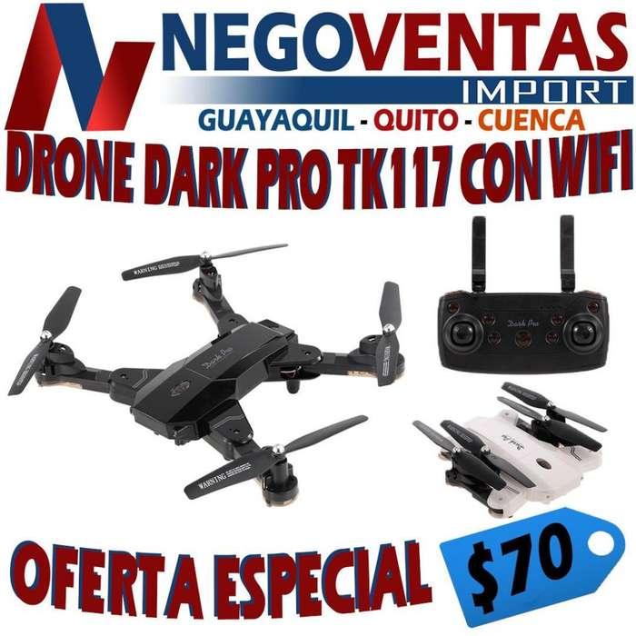 DRON DARK PRO TK117 CON WIFI