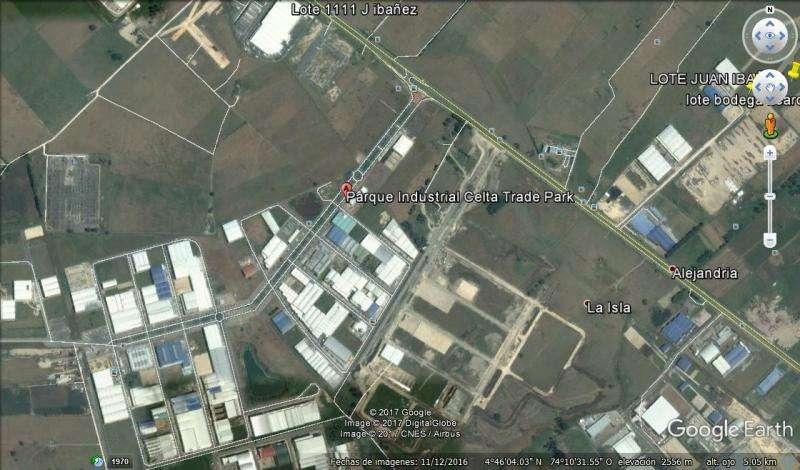 Lote En Venta En Funza Parque Empresarial Celta Cod. VBV&G2214