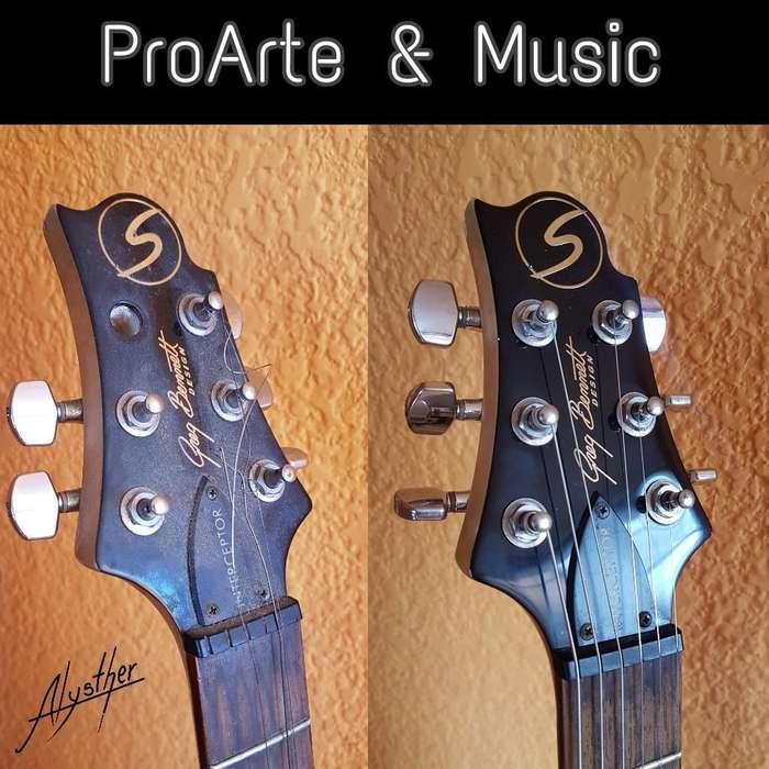 Reparación Y Pintura en Tu Instrumento