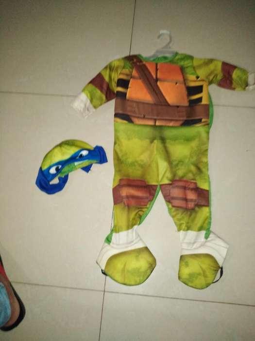 Disfraz Tortuga Ninja 12-18 Meses