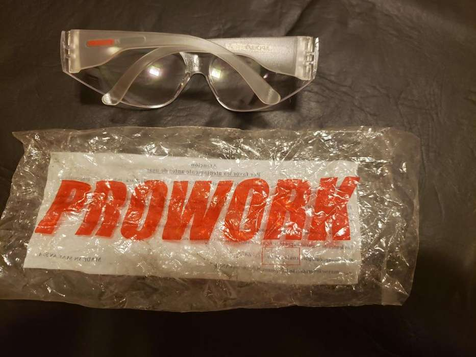 Anteojo de seguridad Prowork transparente