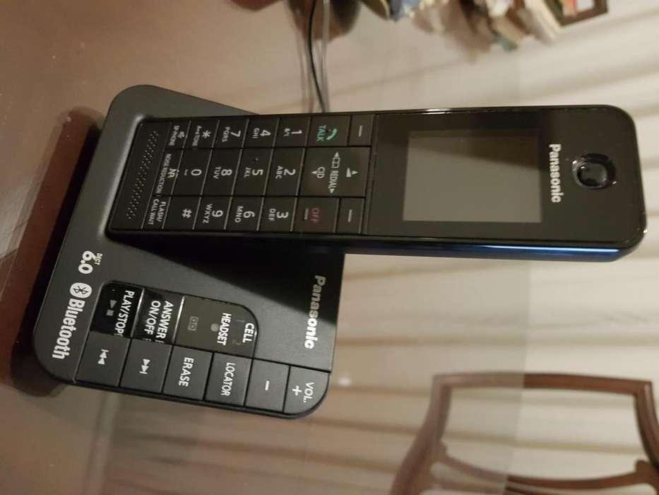 Telefono Inalambrico Digital Panasonic con enlace a celular KX-TGH260