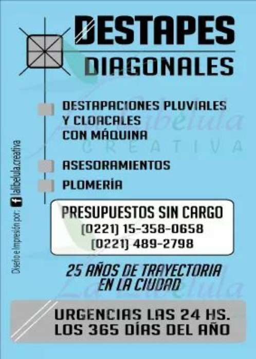 Destapaciones Diagonales