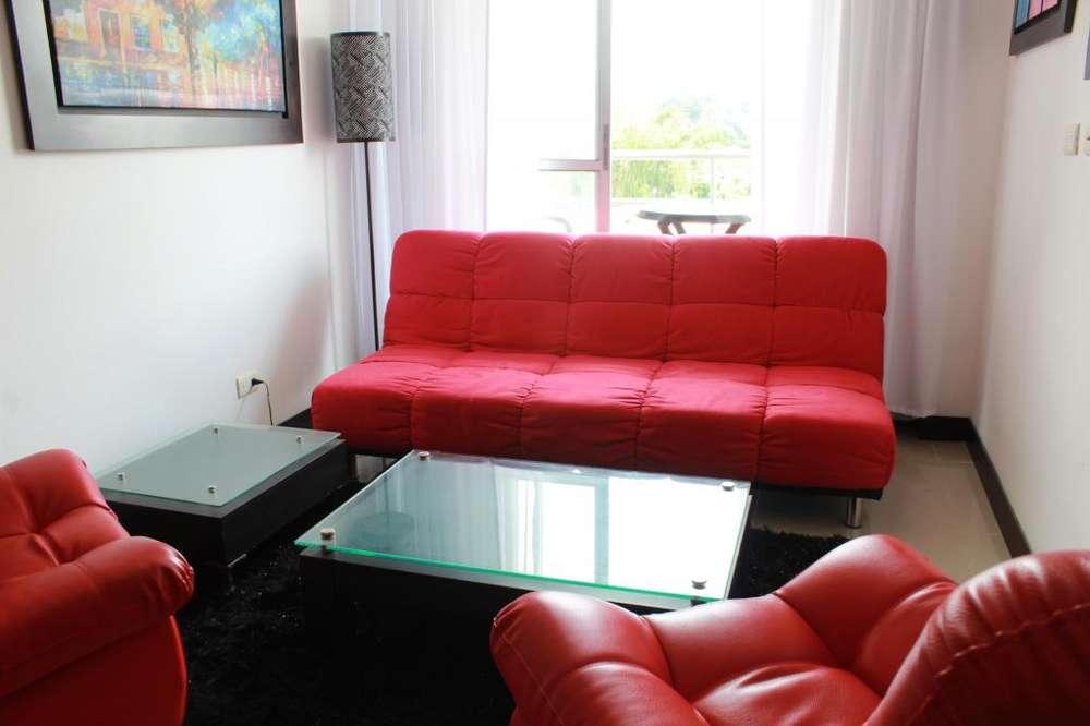 Juego de sala roja para tu hogar en Pereira