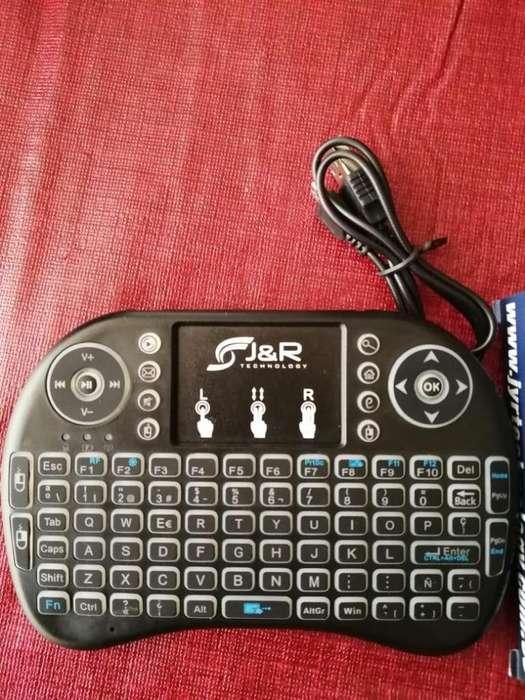 Control con Teclado para <strong>televisor</strong> Smart TV
