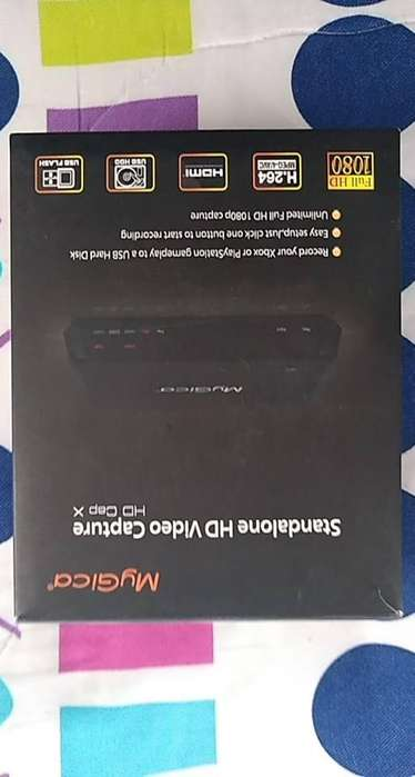 Capturadora Mygica Hdmi Hd Cap X 1080