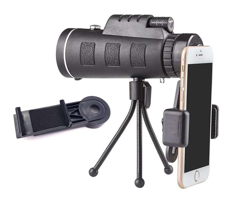 zoom celular, lente para celular, zoom 40x60 para celular universal