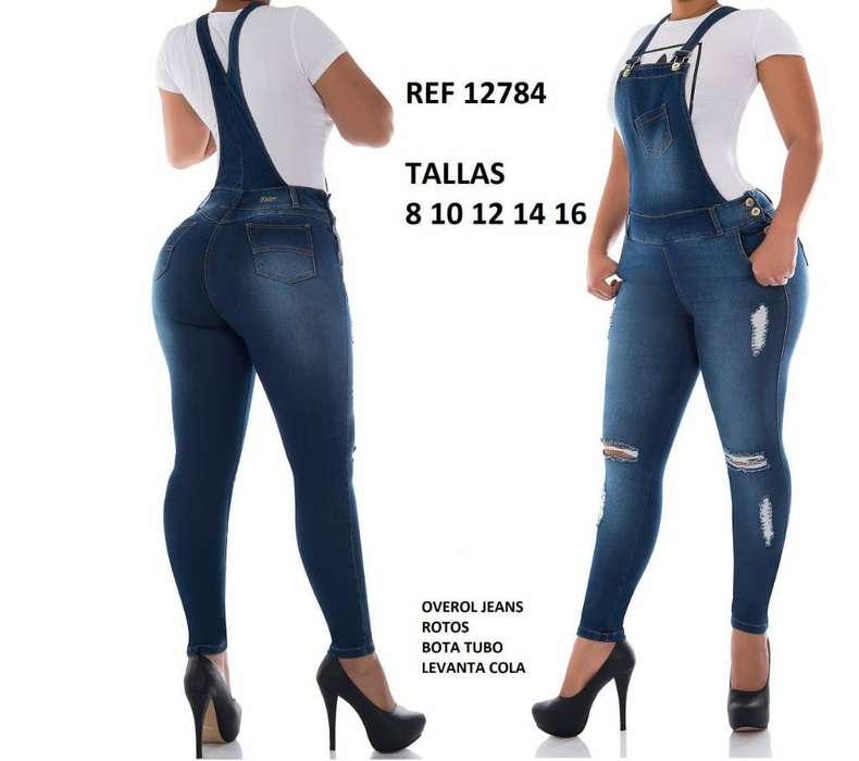Overol Jeans Talla 12