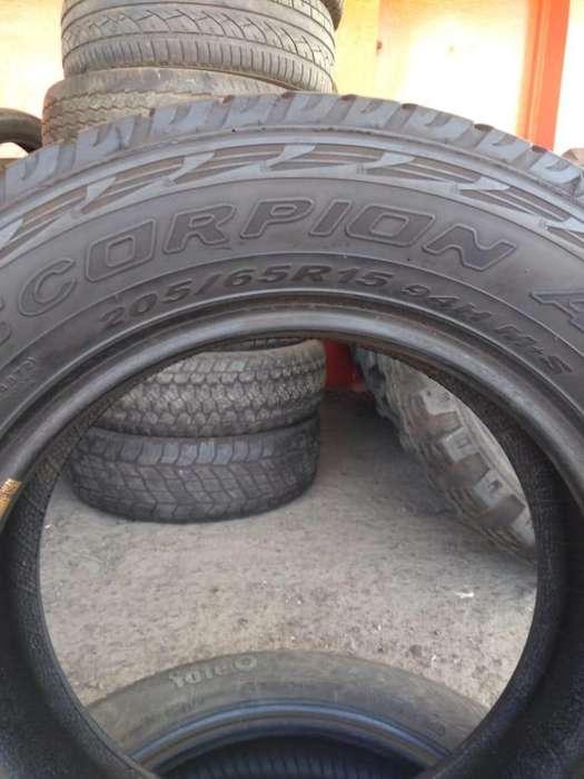 Neumático 205/65 r15 Pirelli Scorpion usado