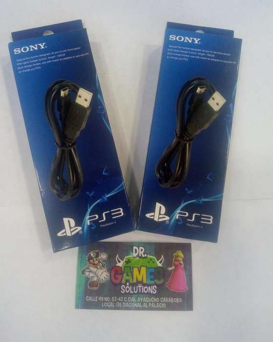 Cable Carga y juega PS3