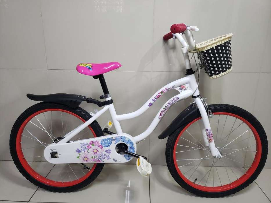 Bicicleta Aro 20 Mujer Ideal 6 a 8 Años