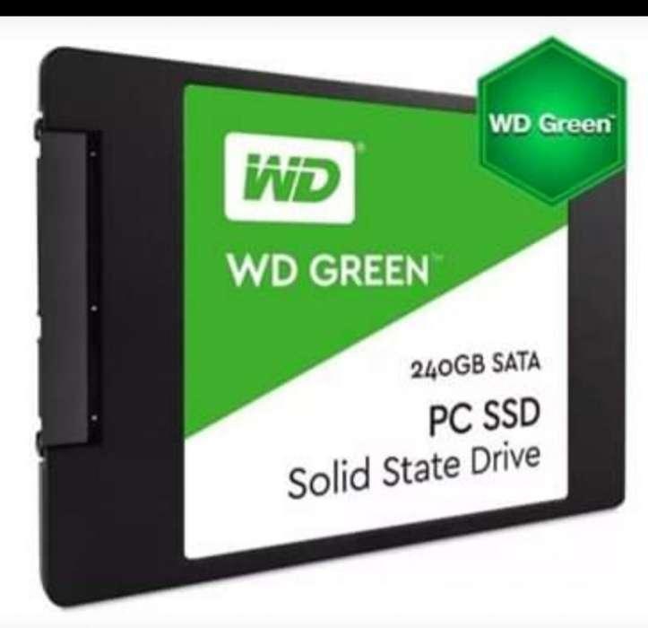 Disco Sólido Wd 240gb Ssd Green Western