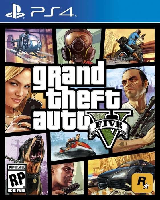 Grand Theft Auto V (GTA V) PS4 Fisico Nuevo