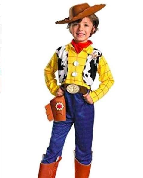 Disfraz Disney Toy Story 2 Woody Deluxe Talla 3T - 4T