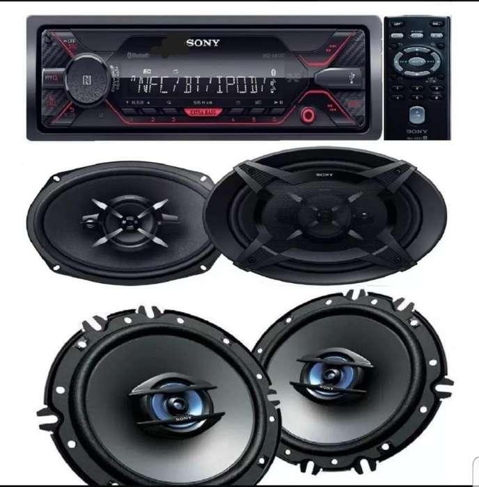 Stereo Sony Dsx-a400 Jgo de 6x9 Jgo 5