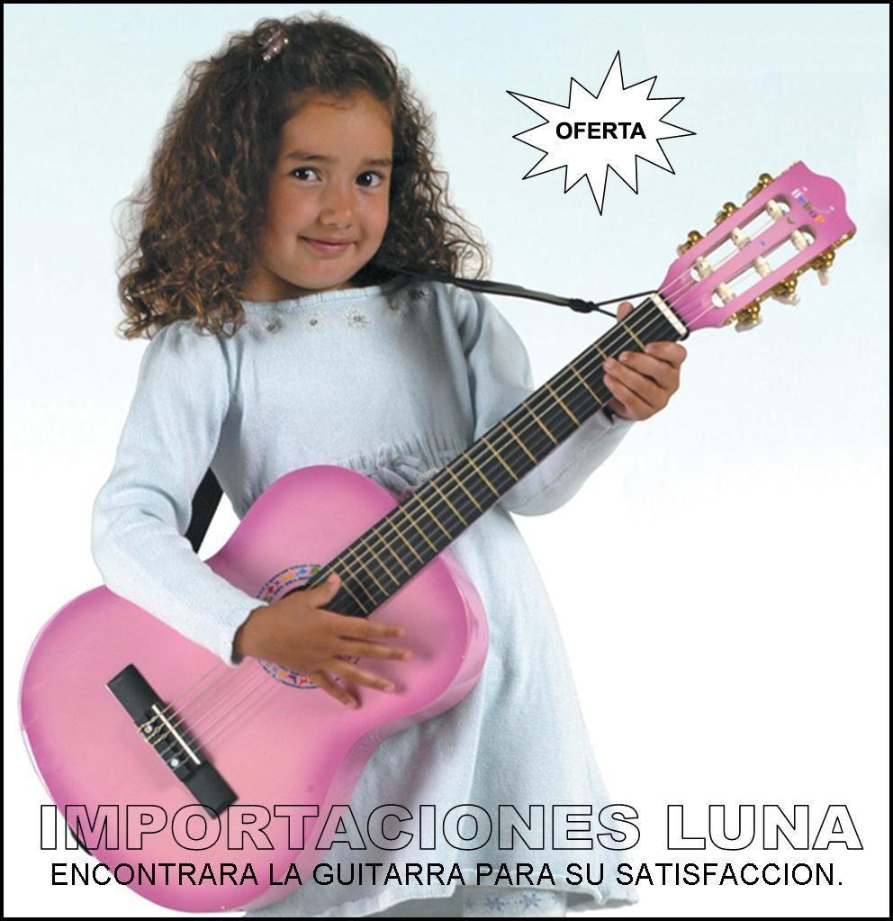 Venta guitarras acusticas colores rosado en lima peru