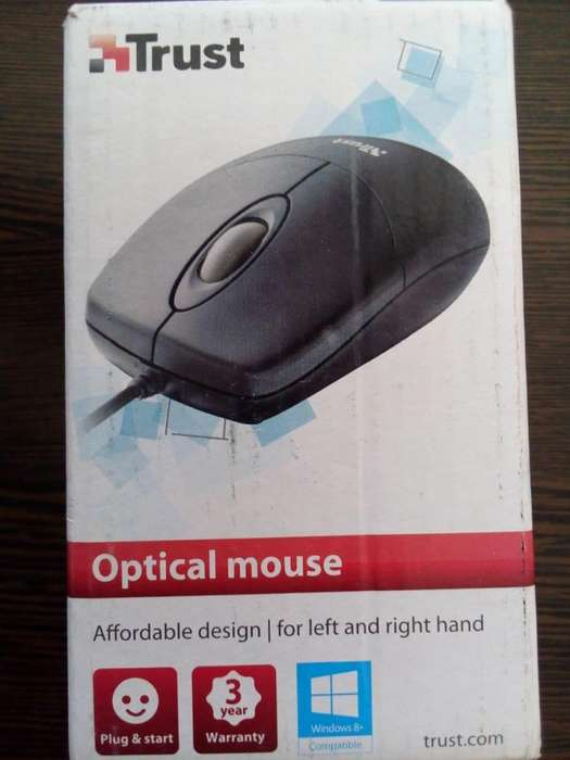 MOUSE OPTICO USB TRUST