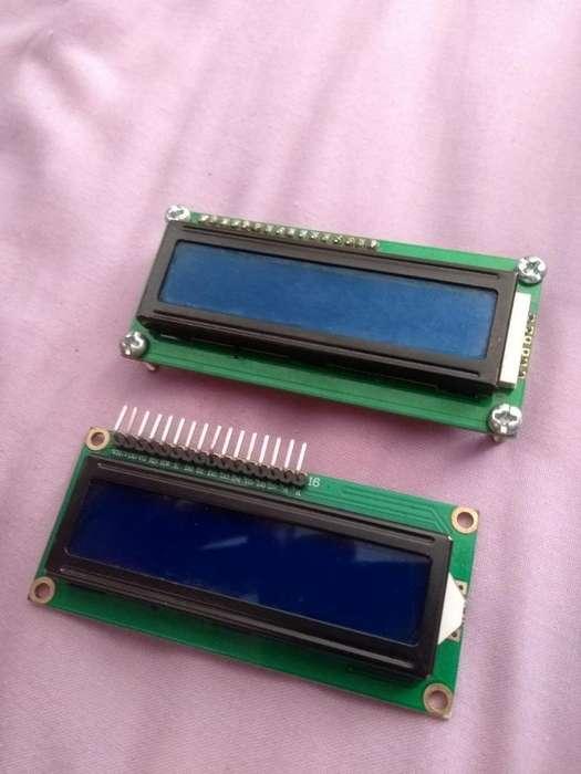 Lcd 16x02 Arduino Display 16x2