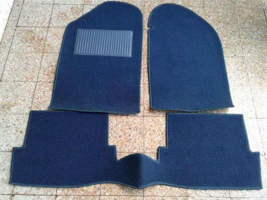 Cubre alfombra Gacel Senda de boucle azul completo 3 piezas