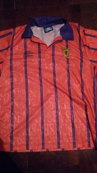 Camiseta Escocia Retro Umbro Talle Xl