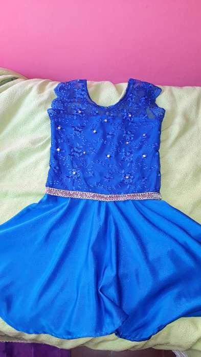 Vendo <strong>vestido</strong> de Fiesta Azul Marino