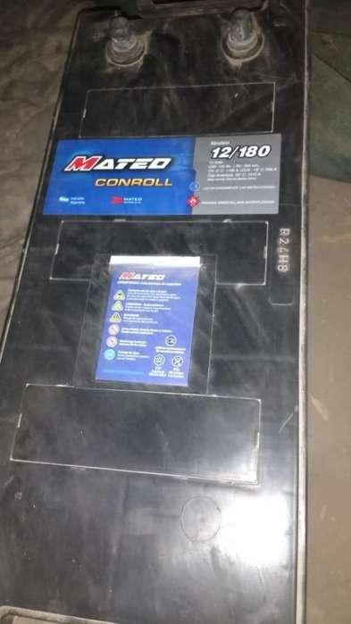 <strong>bateria</strong> NUEVA P/ CAMION MARCA MATEO 12/180 SIN USO-