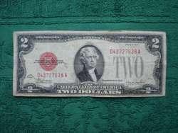 BILLETE TWO DOLLARS USA 1928