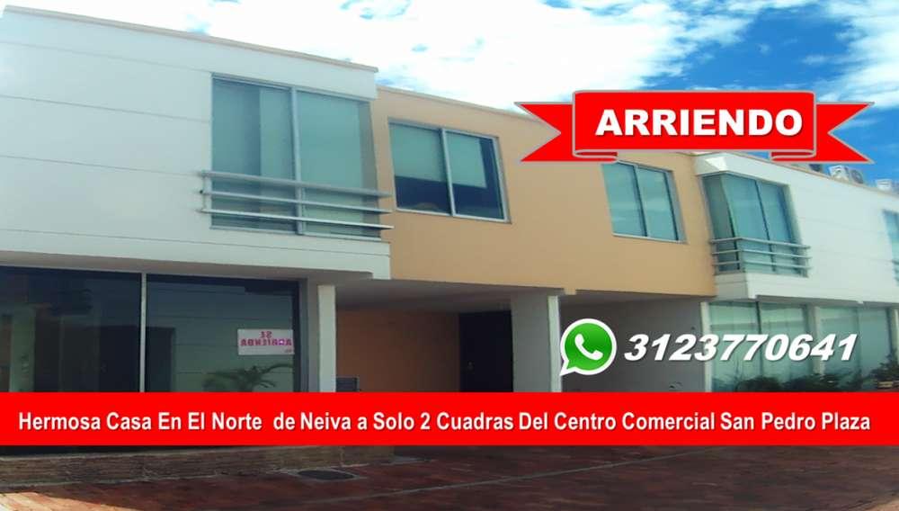 CASA EN ARRIENDO EN CONJUNTO CERRADO A SOLO 2 CUADRAS DE LOS MEJORES CENTROS COMERCIALES