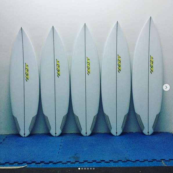 Tabla de surf UVA Surfboards Mod. ROUND Fabrica de tablas a medida y en stock