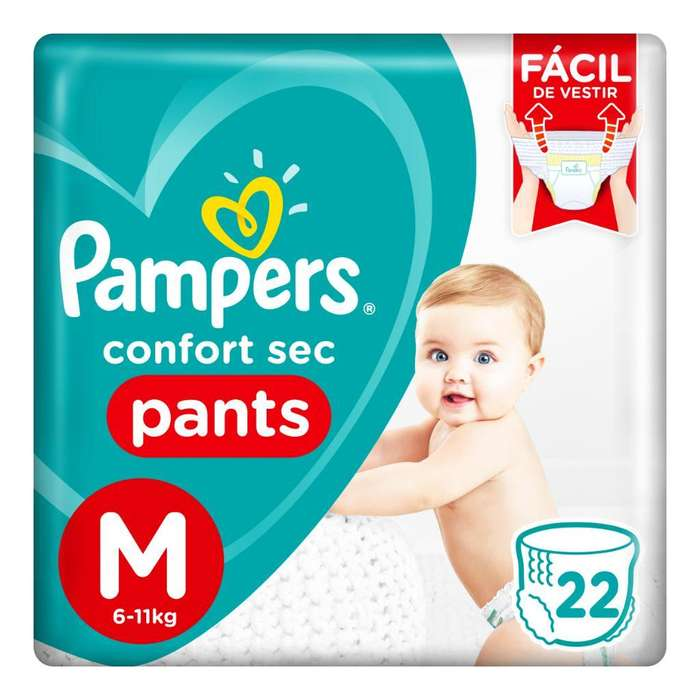 Pampers Pants 22 Unidades