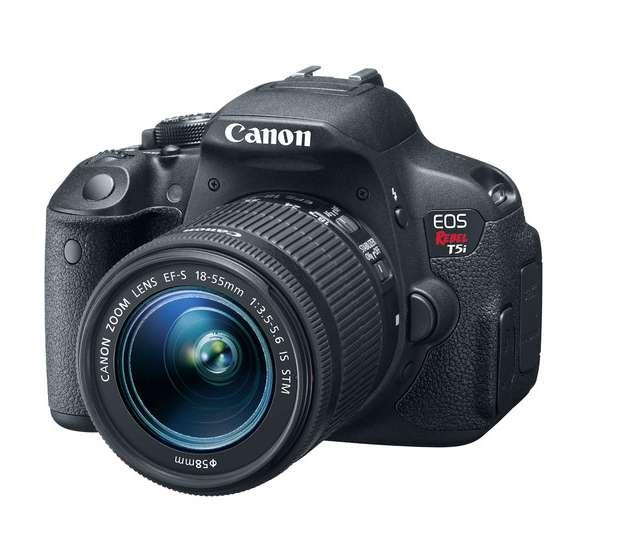 Cámara Canon EOS Rebel T5i DSLR con Lente 18-55mm