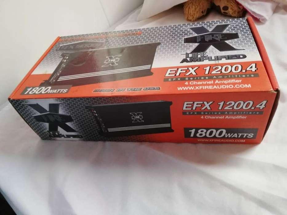 Amplificador para Carro 1800w 4 Canales