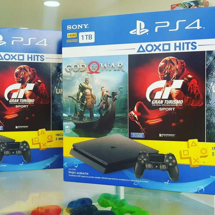 Ps4 Bundle 3 Juegos Y Plus 1 Tera