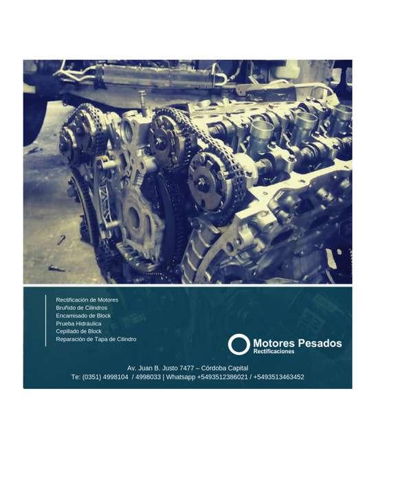 Rectificadora de Motores - Block - Tapa de cilindro - Cigueñal - Bielas