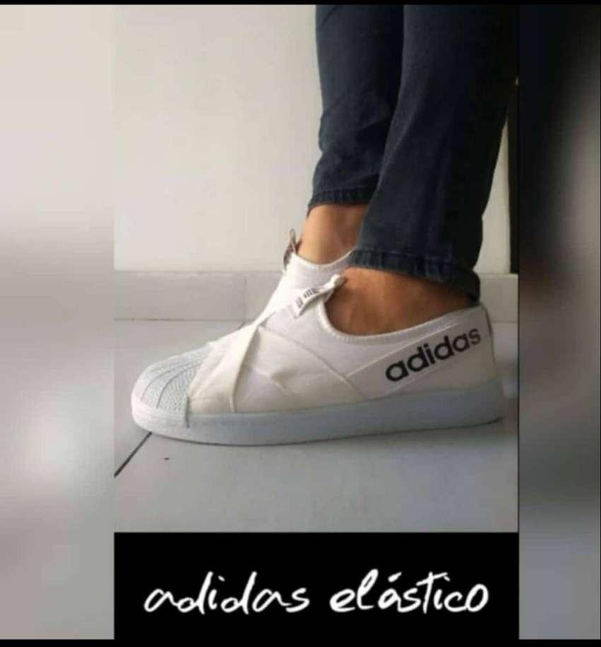 zapatillas adidas con elastico