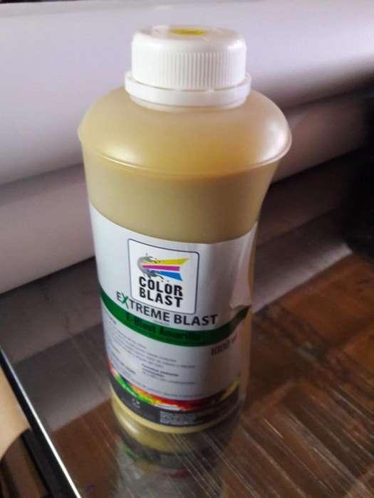 Tinta solvente Amarilla