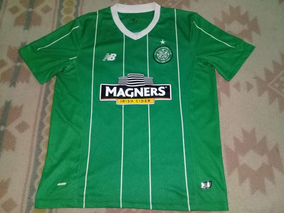CAMISETA CELTIC NEW BALANCE ORIGINAL TEMPORADA 2015 TALLE L