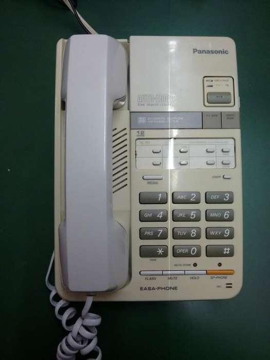 Teléfono con contestador y manos libres Panasonic
