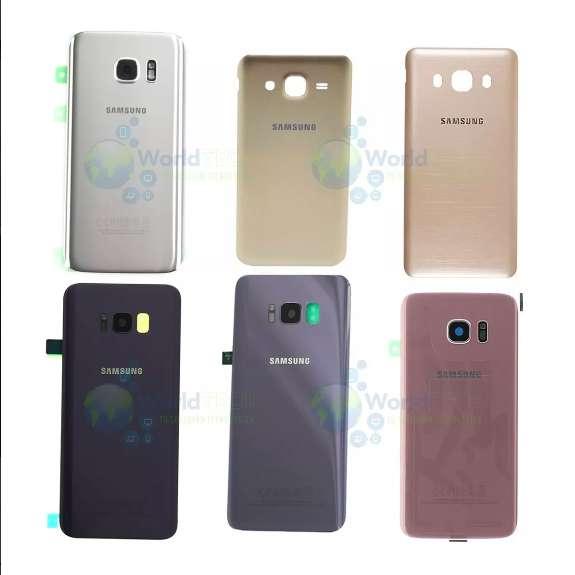 Tapa Bateria Posterior Samsung S6 S7 Edge S8 S8 Plus A5 2016