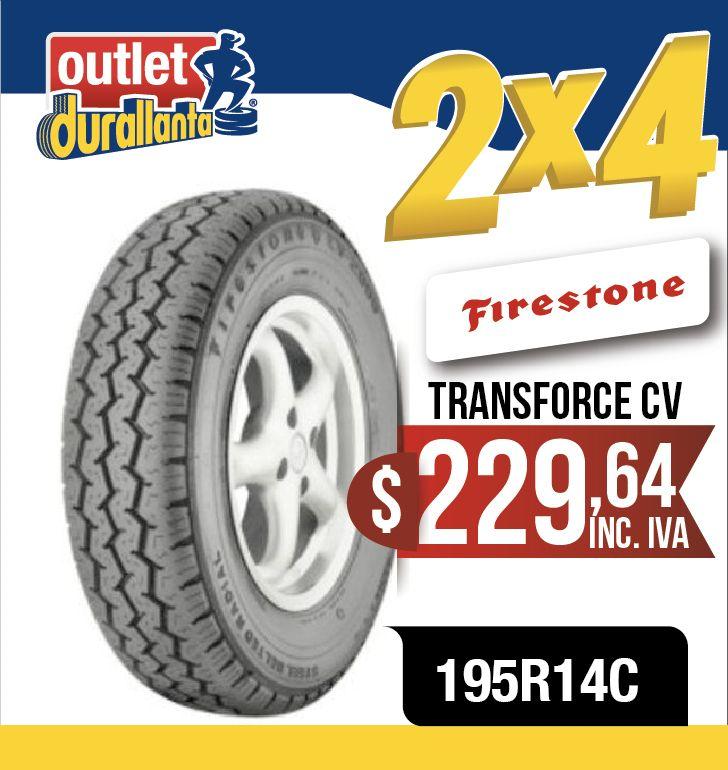 LLANTAS 195R14C FIRESTONE TRANSFORCE CV VIEW C2 K2700 VIEW CS2 Frontier K2500 K2700 II Frontier CS