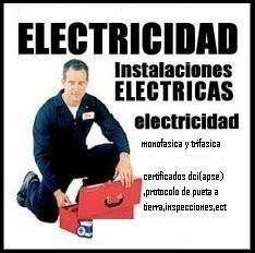 ELECTRICISTA! SU PEDIDO ES PRIORIDAD! CONSULTE!