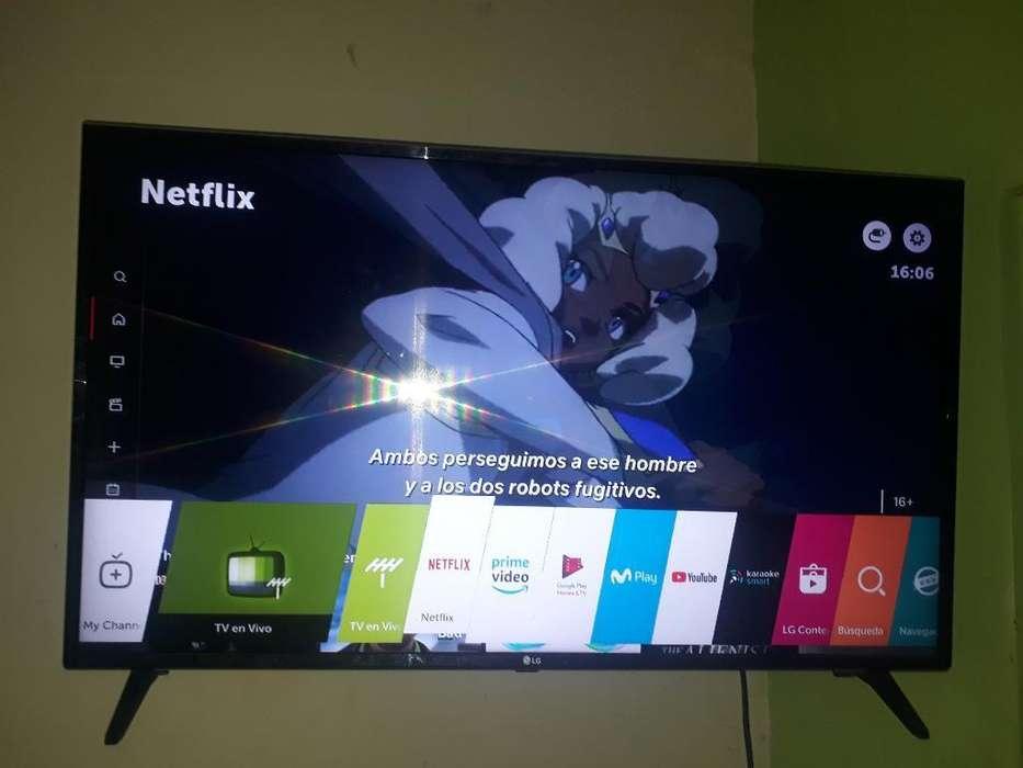 Vendo O Camb Tv Lg 43 Pulgadas Led Smart