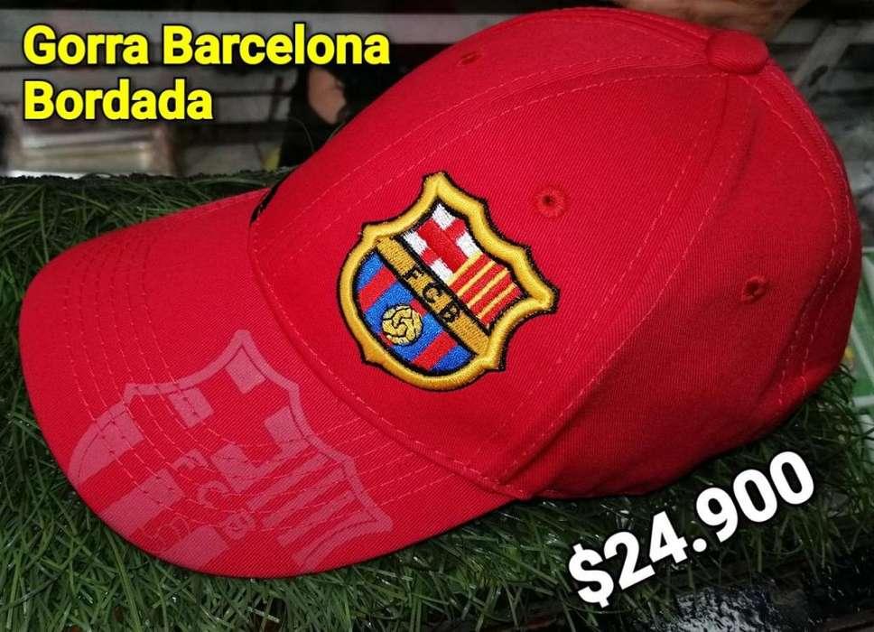 GORRA DEL BARCELONA FC ROJA